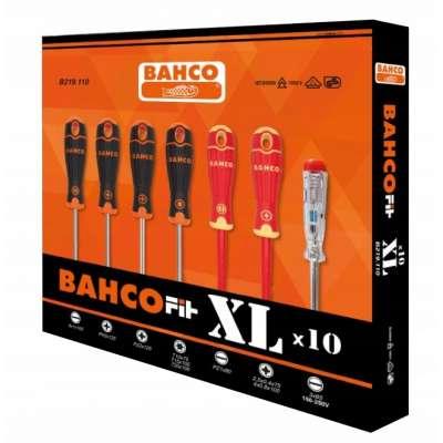 komplet 10szt. wkrętaków z próbnikiem napięcia XL BAHCOFIT Bahco [B219.110]