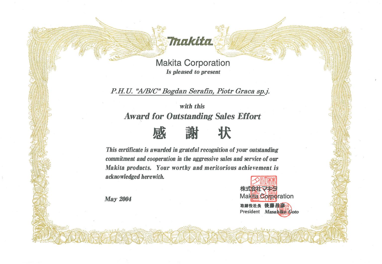 nagroda Makita
